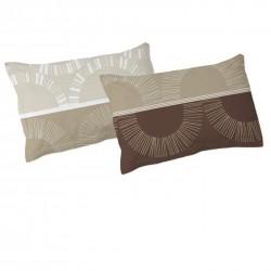 Mochaccino - Taies d'oreiller ou traversin / 100% Coton