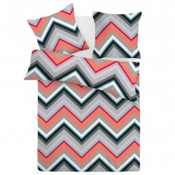 Zigo - 100% Cotton Bed Linen Set (Duvet Cover & Pillow Cases)
