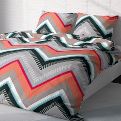 Zigo - 100% Cotton Bed Linen Set (Duvet Cover & Pillow Cases)