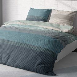 Neptune - 100% Cotton Bed Linen Set (Duvet Cover & Pillow Cases)