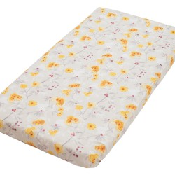 Sunny Fitted Sheet Pati'Chou 100% Cotton abstract pattern for baby and kid bed