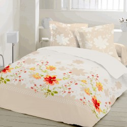 Primavera - Bed Linen Set, 100% Cotton (Duvet Cover & Pillow Cases)