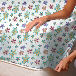 Demetra (Masha) - Fitted Sheet / 100% Cotton Bedding