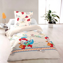 Tommy - Bed Linen Set, 100% Cotton (Duvet Cover & Pillow Cases)