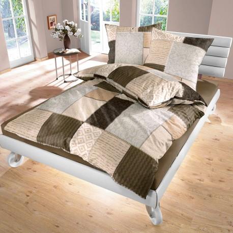 Fabio - Bed Linen Set, 100% Cotton (Duvet Cover & Pillow Cases)