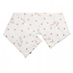 Baby Make a wish - Pati'Chou Cot / Crib Bumper Pad Half