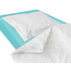 Les  Cercles colorés - 100% Coton parure de lit pour bébé (Housse de couette et Taie d'oreiller)