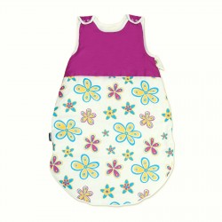 Цветни Цветя и Циклама - Бебешко спално чувалче
