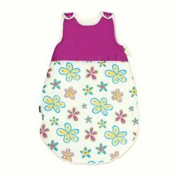 Les Fleurs colorées et Cyclamen / Gigoteuse bébé