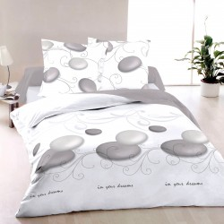 Zen - 100% Cotton Bed Linen Set (Duvet Cover & Pillow Cases)