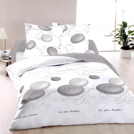 Дзен - 100% памук спален комплект (плик и калъфки)