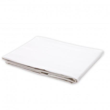 Blanc - Drap / 100% Coton Linge de Lit
