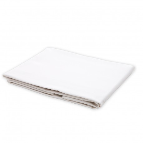 White - Flat Sheet / 100% Cotton Bedding