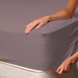Ash Pink (Dream) - Fitted Sheet / 100% Cotton Bedding