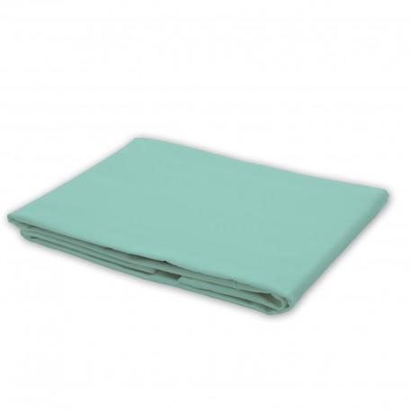 Aqua Blue (Butterfly) - Flat Sheet / 100% Cotton Bedding