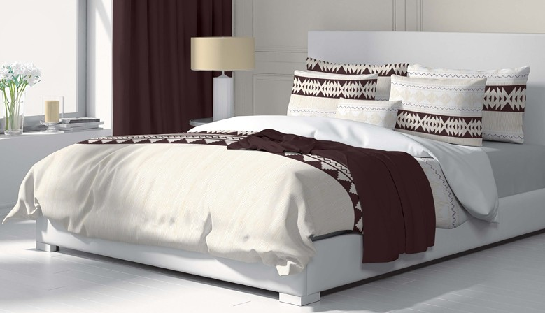 Ethno - Bed Linen Set, 100% Cotton (Duvet Cover & Pillow Cases)