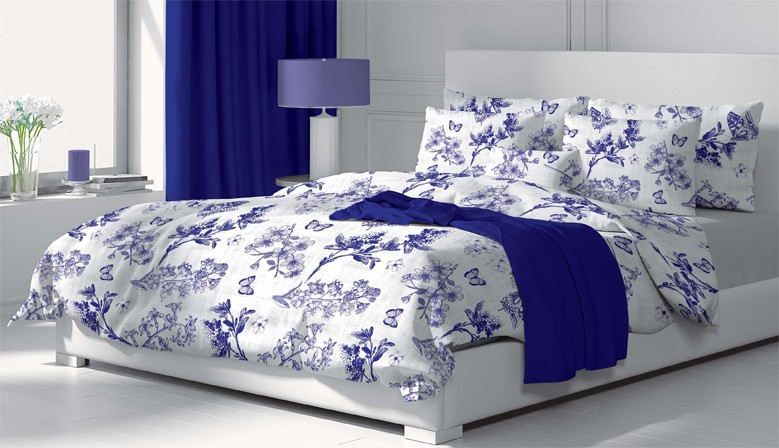 Josephine - Bed Linen Set, 100% Cotton (Duvet Cover & Pillow Cases)