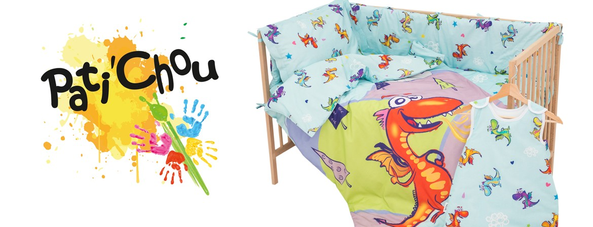 Dragons - 100% Cotton Cot / Crib Set (Duvet Cover & Pillow Case)