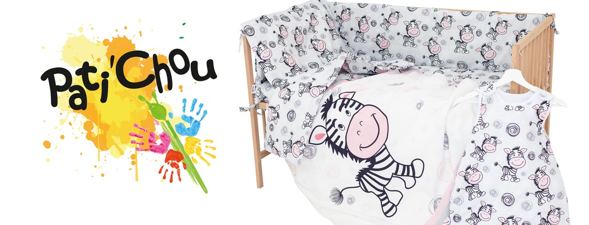 Zebra - 100% Cotton Cot / Crib Set (Duvet Cover & Pillow Case)