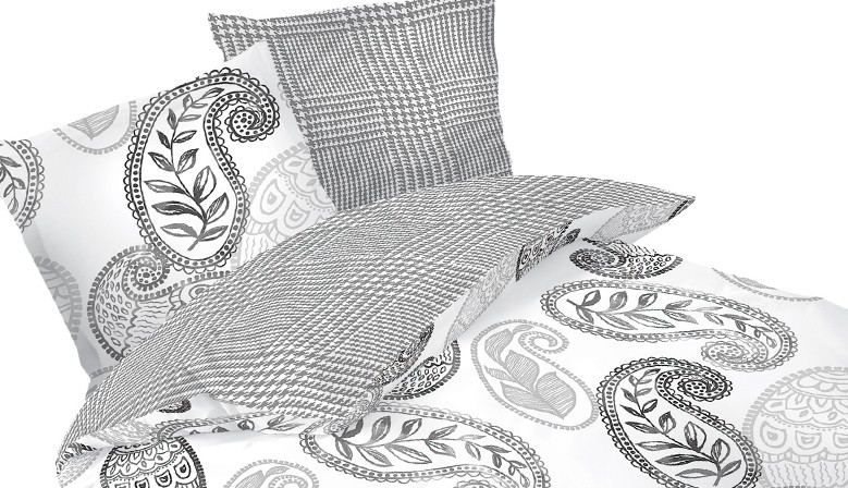 Sophia - Bed Linen Set, 100% Cotton (Duvet Cover & Pillow Cases)