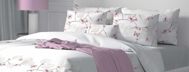 Farfalla - 100% Cotone Biancheria da letto (Copripiumino e Federe)