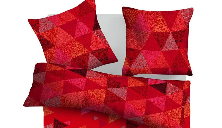 Мароко - 100% памук спален комплект (плик и калъфки)
