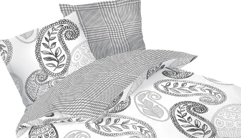 София - 100% памук спален комплект (плик и калъфки), многоцветен